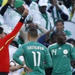 Nigeria's Kaita receives death threats after red card