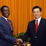 Equatorial Guinean President Mbasogo Meets With Chinese Counterpart Hu Jitao