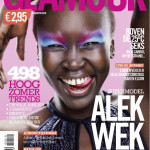 Alek Wek Adds Glamour To Dutch Magazine