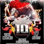 DJ Waxxy's 10th Year Anniverssary Party!