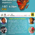 Poetry Africa in Malawi this Friday