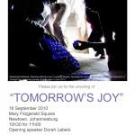 """SUCH INITIATIVE – """"Tomorrows Joy"""" opening of the Plastic Bottle Top Mosaic on Mary Fitzgerald Square"""