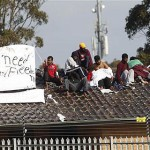 Rooftop Protest Ends at Australian Asylum Center