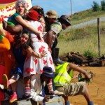 Clowns Without Borders at Celebrate Durban