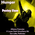 House of Hunger Poetry Slam, 30 October @ Alliance Francaise 1-5pm