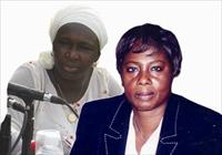 Dr. Isatou Touray and Amie Bojang-Sissoho