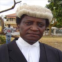 the Gambia Justice Minister Edward Gomez