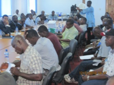 Cross section of Liberian Journalists at the Program