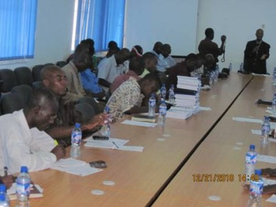 Liberian Journalists praised for partnership to promote Government's infrastructure & WATSAN Programs