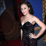 USA(Ghana): Nadia Buari on Red Carpet at Pan African Film Festival