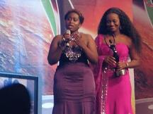 Jackie Appiah and Lydia Forson from Ghana 2010 AMAA award winners
