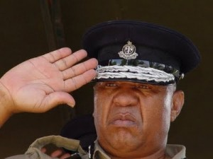 Retired Inspector General of Police, Omar Mahita, this time he had to salute for the 'cup'