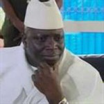 Gambian President Yahya Jammeh denies hostility towards journalist