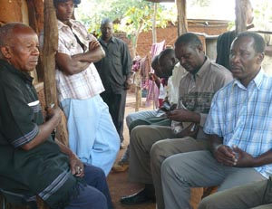 Mwasapila receives condolences from Ngorongoro District leaders