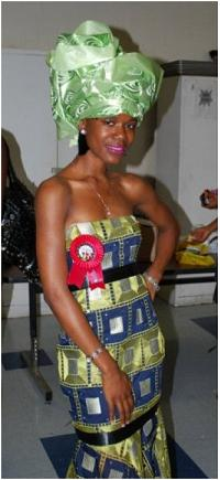 Isatu Ayodele Davies, a pageant runner-up.