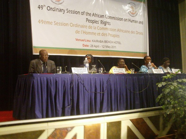 Gambia 49th Ordinary ACHPR Session