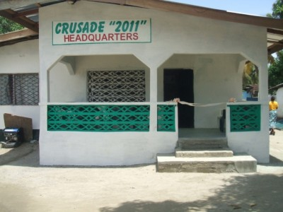 Newly dedicated offices of the pending National Crusade 2011