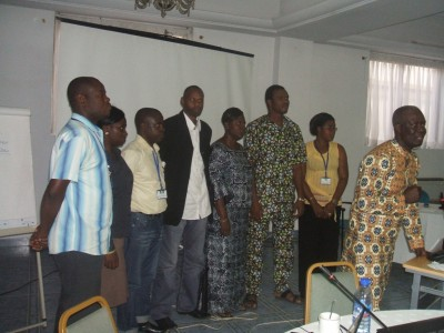 New leadership of the West Africa WASH Journalists Network