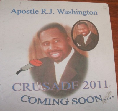 Photo of Apostle Rodney J. Washington of the USA