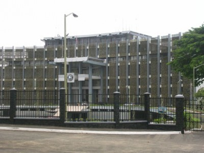 Executive Mansion, Seat of the Liberian Presidency now  undergoing renovation
