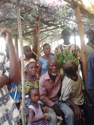 Hundreds of Bong County Citizens continue to pledge  Support to the senatorial aspiration of Hon. J. Mike Kollie