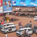 Uganda taxi drivers and conductor's demonstration paralyze transport sector