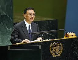 China's foreign minister Yang Jiech