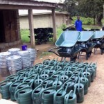 LIBERIA: LDS Donates Tools, Seeds To Ivorian Refugees & Hosts In Nimba