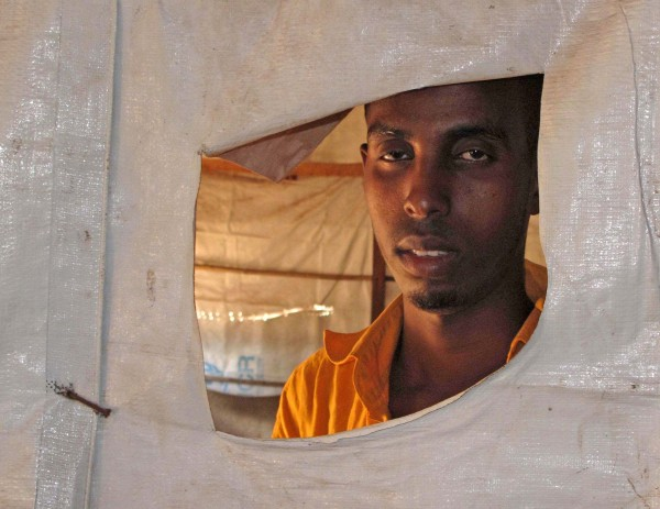 Photo: Kristy Siegfried/IRIN A Somali migrant at Maratane refugee camp in Mozambique