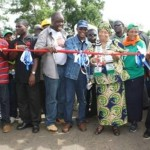 Liberia: President Sirleaf tours newly constructed bridge