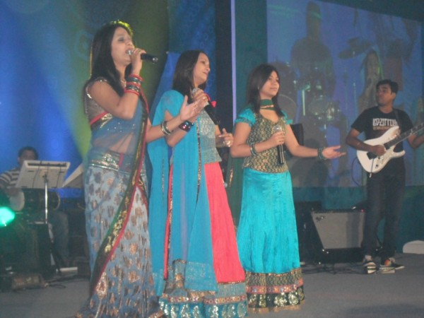 Indians performing Sunday evening at the Global Forum Inauguration