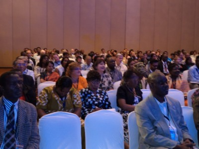 View of some participants at one of the Plenary Sections
