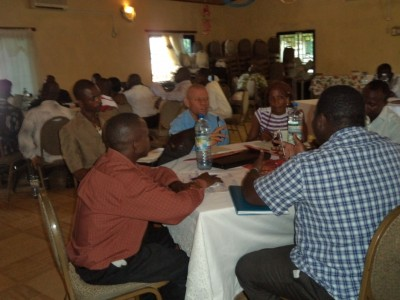 Separate Group Discussions on the way forward to ensuring access  to save drinking water and improved sanitation for all