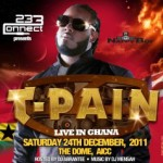 T-PAIN will be spending Christmas in Ghana
