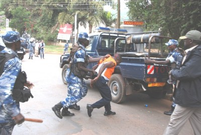 Uganda recent arrests and detention of political opposition leaders and activists