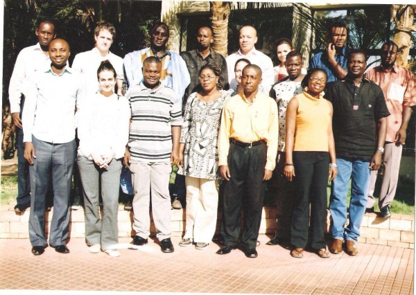 (flash back) Participants at the First Meeting of the Regional WASH Media Network in Bamako, Mali 2010