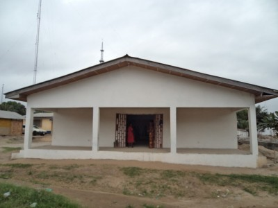 Newly constructed SOGOM Harvest Church edifice, with support from Harvest Bible Chapel-USA