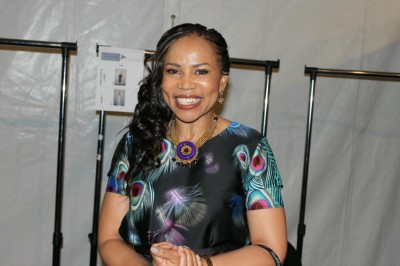Dr Prescious Moloi Motsepe owner of African Fashion International, the brand behind Mercedes Benz fashion week