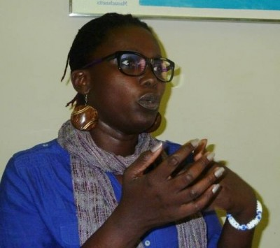 Marieme Jamme - Coordinator of the climate change contest