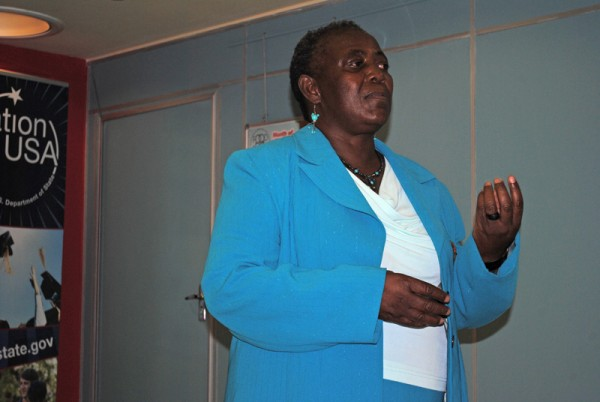 Mary Sandasi, director of the Women and AIDS Support Network (WASN)
