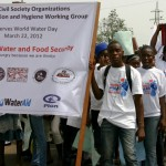 "Start of the parade to mark World Water Day in the capital of Liberia, ""Monrovia"""