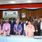 Pres. Ellen Johnson-Sirleaf and Participants at the Inter-Ministerial High Level Meeting