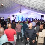 The Gugulethu Tenors in DStv VIP Lounge at TOPS Gugulethu Wine Festival 2012