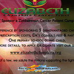 "Launch of Elizabeth Chanakira CANCER TRUST ""SPONSOR A ZIMBABWEAN CANCER PATIENT"" CAMPAIGN 2012"