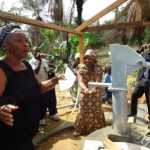 LIBERIA: Arthington Gets 1st Public Hand Pumps, Latrine since 1822