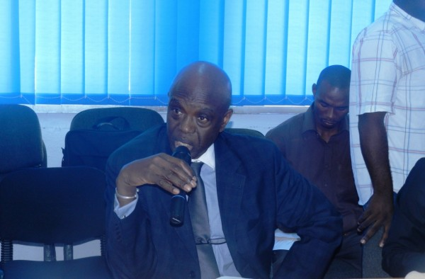 Executive Secretary of the African Ministers' Council on Water, Baimass Taal