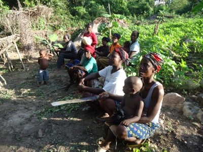 Farmers of Ivorian Refugees and Host Communities in Larpea # 1, Nimba County