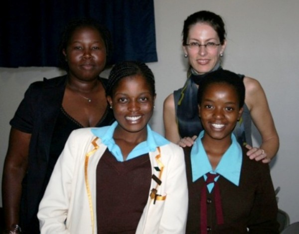 Precious Simba has collaborated with the U.S. Embassy in Harare on outreach programs with young women
