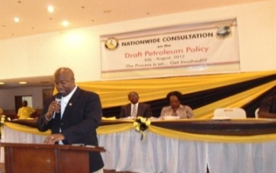 Nationwide Consultations on a draft Petroleum Policy