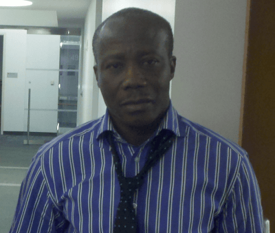 Aroun R. Deen - Sierra Leonean journalist in New York